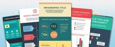 How to Make an Infographic in Under an Hour [15 Free #Infographic Templates] via @hubspot