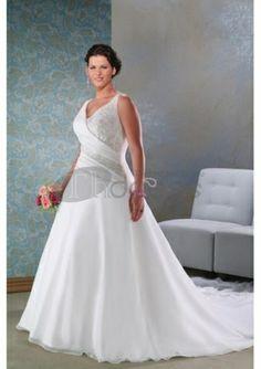Abiti da Sposa Taglie Forti-Pizzo bellissimi abiti da sposa taglie forti a buon mercato