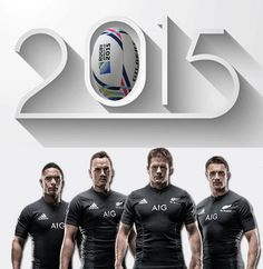 New Zealand All Blacks - Rugby World Cup 2015
