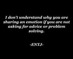 ENTJ and INFJ are naturally conflicting because the ENTJs thinking is the INFJs inferior function. And the INFJs feeling is the ENTJs i...