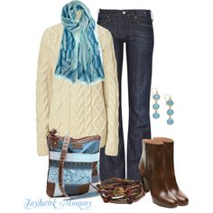 A Sweater For Fall, created by jayhawkmommy on Polyvore