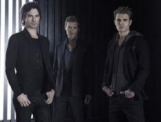 Damon, Klaus and Stefan