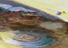 Richat Structure, Eye Of Sahara, Mauritania