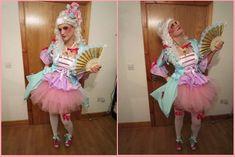DIY Marie Antoinette costume