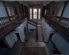Abandoned Castles, Châteaux And City Halls Showcase The Beauty Of Emptiness