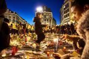 Auf dem Börsenplatz in Brüssel drei Tage nach den Anschlägen.(Bild: ERIC HERCHAFT / REPORTERS / IMAGO)