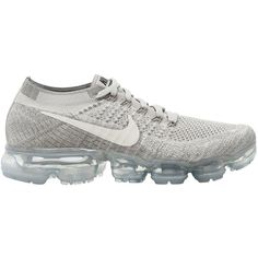 Nike Men Vapormax Flyknit Sneakers (16,235 PHP) ❤ liked on Polyvore featuring men's fashion, men's shoes, men's sneakers, grey, mens sneakers, mens grey sneakers, mens grey shoes, nike mens shoes and nike mens sneakers
