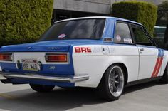 1972 Datsun 510 BRE Tribute Adam Carolla Owned Hot Rod For Sale Rear