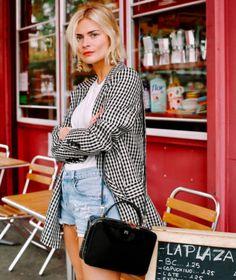 Pandora Sykes in the Valero Jacket.