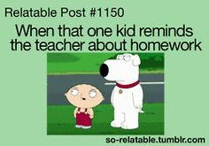 gif gifs funny gif true true story family guy homework i can relate so true teen quotes relatable funny quotes