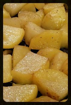 """AMIEs Rosemary Roast Potatoes - """"this potato recipe is the simplest, quickest and easiest one... but yummy!  :ohyeaah"""" @allthecooks #recipe"""