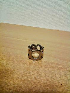 彫金 Ring SV BRメッキ 12000