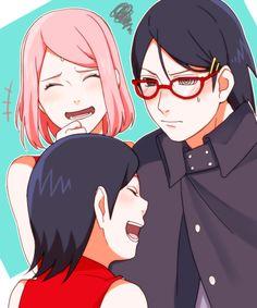 Sasuke with glasses