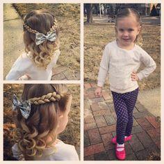 143 curtidas, 24 comentários – Ashley Cardon ( no Ins… - New Hair Little Girl Hairdos, Lil Girl Hairstyles, Princess Hairstyles, Easy Toddler Hairstyles, Easy Hairstyles, Toddler Hair Dos, Updo Hairstyle, Prom Hairstyles, Hairstyle Ideas