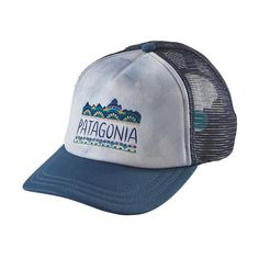 Need a hat Patagonia Women\'s Femme Fitz Roy Interstate Hat - Glass Blue GLSB