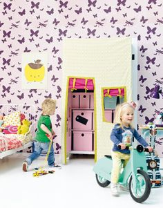 tutorial - super fun diy closet for kids w/ tent
