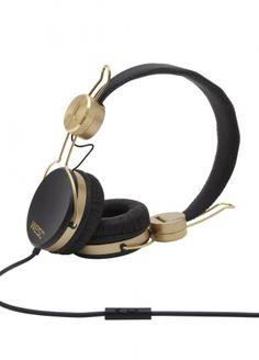 Headphones → Banjar golden black - WeSC Webshop