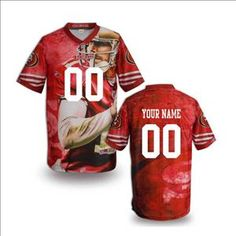 2014 Fashion New San Francisco 49ers Customized Jersey-02 Nike Shoes f3f8d9df0