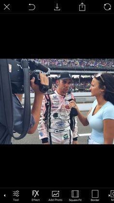 Interviewing Bryan Clauson after the 2016 Indy 500 for WTHR