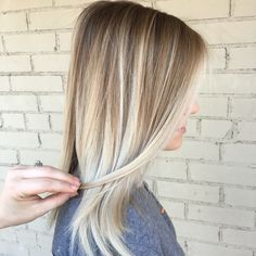 Balayage, blonde hair, blonde balayage, blonde hair color, highlights