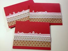 Free Printable: Dots and Lace Valentine's Day Cards