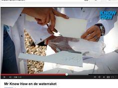 Waterraket maken   ( met PET fles ).