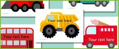 Vehicle picture cards | Free EYFS / KS1 Resources for Teachers
