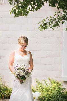 Heather & Sean | Scottish Roots | Photos: Eva Derrick Photography | Gown: Stella York | Makeup & Hair: Fate Hair Salon | Florist: Country Basket Flower Boutique | Rustic Wedding Decor