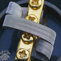 Conveyer Belt Coil Build 😂 Photo by: @trialnvape - #DripGram #vape #vapefam…
