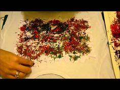 Tutorial: Como decorar una camiseta con pinturas de plastidecor