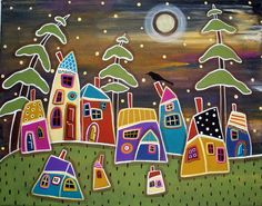 Karla  Gerard, oh......love these houses!