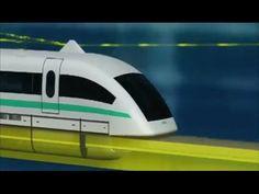 Megaestructuras - Tren del Futuro - el más Rápido del Mundo