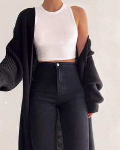 Mode Inspiration und Trend Outfits für lässigen Look Black Girl Fashion, Look Fashion, Classy Fashion, Fashion Women, Knit Fashion, Fashion Fall, Celebrities Fashion, Cute Casual Outfits, Stylish Outfits
