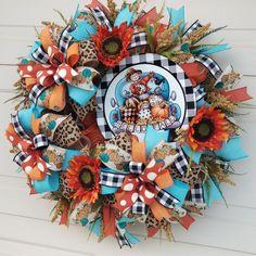 Fall Deco Mesh, Deco Mesh Wreaths, Fall Wreaths, Halloween, Home Decor, Decoration Home, Room Decor, Home Interior Design, Home Decoration