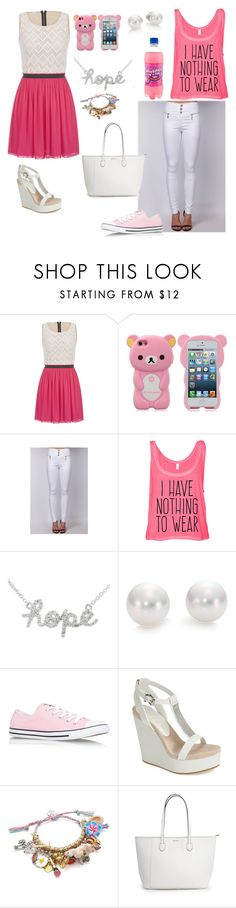 """Not My Style: Tagged"" by lost-girl-reily ❤ liked on Polyvore featuring maurices, Sydney Evan, Mikimoto, Converse, Lola Cruz and Venessa Arizaga"