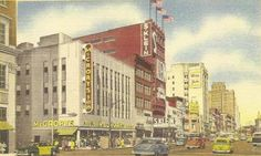 Broad Street in Downtown Newark, NJ, circa 1945. Discover more history @ www.thehistorygirl.com