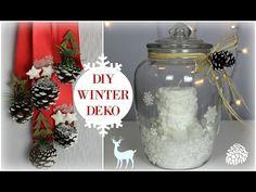 Weihnachtsdeko basteln - Glitzer-Anhänger Tutorial / christmas ornament How-to | Deko-Kitchen - YouTube