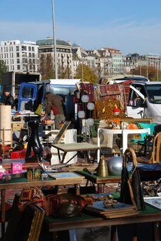 Le marché aux puces de Plainpalais à Genève | I LOVE travelling