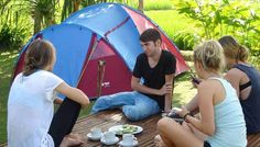 Tema Outbound Di Bali yaitu Fun Team Building Dikombinasi Camping