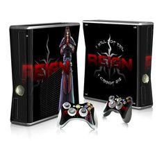 Tv Series Reign sticker skin for Xbox 360 slim - Decal Design