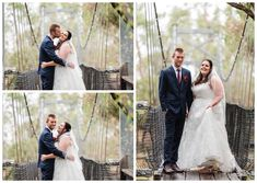 Bride & Groom Portraits on the Swing Bridge at Redcliffe on the Murray in Pinjarra. Photography by Trish Woodford Photography Wedding Swing, Rainy Wedding, Autumn Wedding, Wedding Bride, Wedding Day, Rustic Wedding Venues, Father Daughter Dance, Happy Marriage, Family Photographer