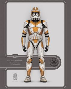 Star Wars Clone Wars, Star Wars Art, Guerra Dos Clones, Star Wars Characters, Fictional Characters, Star Wars Pictures, Fantasy Pictures, Clone Trooper, Sci Fi Fantasy