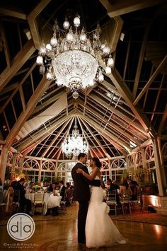 Grand Conservatory At The Brownstone Wedding Reception Bbj Linen A Touch Of Elegance Fl Event Design Https Www Thekn