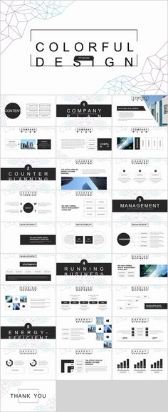 29 Black Annual Report Point Template Design Templates Themes Professional