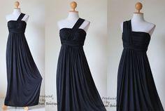 elegant one shoulder dress