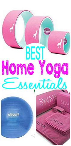 Home Yoga Essentials – How To Create a Relaxing Home Yoga Space - BEST home yoga ideas for creating a cheap home yoga setup. Exercise and do yoga in the comfort of y - Workout Room Home, Best At Home Workout, Workout Rooms, At Home Workouts, Studio Workouts, Workout Mat, Yoga Outfits, Yoga Studio Home, Yoga At Home