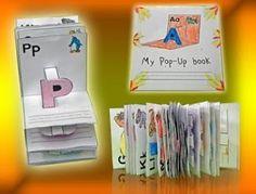 TPT - Fonts 4 Teachers: ABC 2 Dimensional Pop-Up Alphabet Book for Kids