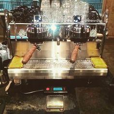 Happy Sunday coffee lovers! Our Synesso MVP are ready to serve you! Come to Watt Coffee Kemang and get your coffee today! See you!  #wattsurcoffee #wattcoffee #wattcoffeekemang #coffee #coffeeaddict #specialtycoffee #anakkopi #kopiindonesia #happysunday #espresso #machiato #piccolo #gibraltar #cappuccino #latte #flatwhite #espressomachine #synesso #artisancoffee http://ift.tt/1VbgBi2