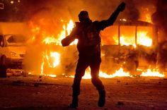 19.01.2014 на Майдані з'явилась – вул. Грушевського. Тут довелось відчути на собі небачену раніше – лють режиму.