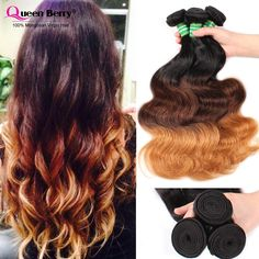 8A Mongolian Body Wave Hair Ombre 1b/4/27# 3Bundles Body Wave Virgin Hair Grade Three 3 Tone Ombre Hair Extensions     #http://www.jennisonbeautysupply.com/    http://www.jennisonbeautysupply.com/products/8a-mongolian-body-wave-hair-ombre-1b427-3bundles-body-wave-virgin-hair-grade-three-3-tone-ombre-hair-extensions/,                              Q1.Hair colours?  A: Yes, the hair is cut from one donor with full cuticle aligned, no acid bath, natural unprocessed.  Q2. Will the hair shedding…